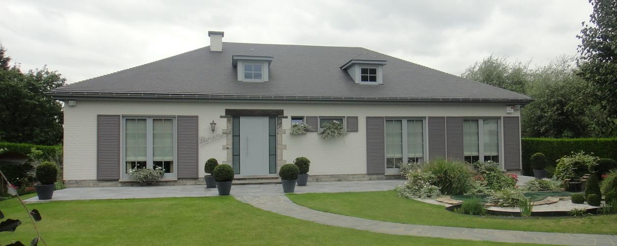 A tournai facades de nos maisons menuiserie jacques adam - Facades maisons photos ...